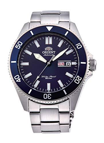 腕時計 オリエント メンズ 【送料無料】Orient RA-AA0009L Men's Kano Stainless Steel Blue Bezel Blue Dial Automatic Dive Watch腕時計 オリエント メンズ