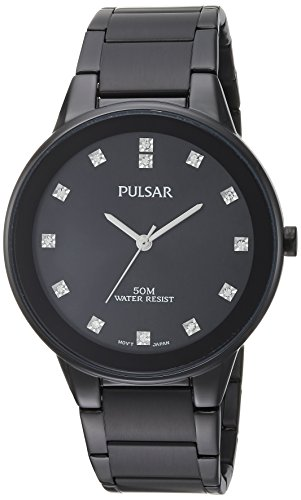 パルサー SEIKO セイコー 腕時計 メンズ 【送料無料】Pulsar Men's Quartz Watch with Stainless-Steel Strap, Black, 20 (Model: PG2051)パルサー SEIKO セイコー 腕時計 メンズ