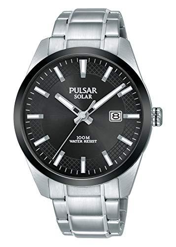 パルサー SEIKO セイコー 腕時計 メンズ 【送料無料】Pulsar Men's Solar Powered Watch with Stainless Steel Strap, Silver, 20 (Model: PX3183X1)パルサー SEIKO セイコー 腕時計 メンズ