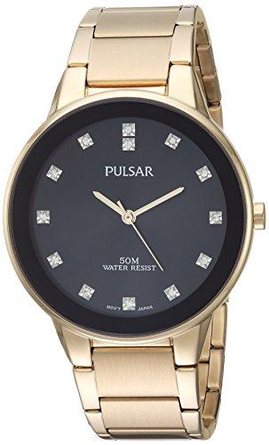 パルサー SEIKO セイコー 腕時計 メンズ 【送料無料】Pulsar Men's Quartz Watch with Stainless-Steel Strap, Gold, 20 (Model: PG2052)パルサー SEIKO セイコー 腕時計 メンズ