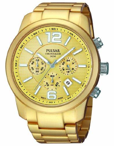 パルサー SEIKO セイコー 腕時計 メンズ 【送料無料】Pulsar Attitude Mens Analog Quartz Watch with Stainless Steel Bracelet PT3182X1パルサー SEIKO セイコー 腕時計 メンズ