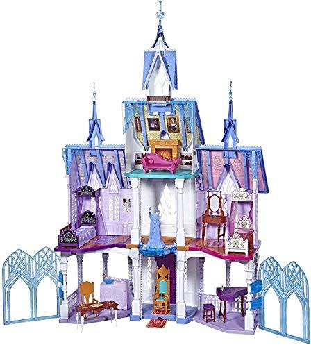 アナと雪の女王 アナ雪 ディズニープリンセス フローズン 【送料無料】Disney Frozen Ultimate Arendelle Castle Playset Inspired by The Frozen 2 Movie, 5'. Tall with Lights, Moving Balcony, & 7 Roアナと雪の女王 アナ雪 ディズニープリンセス フローズン