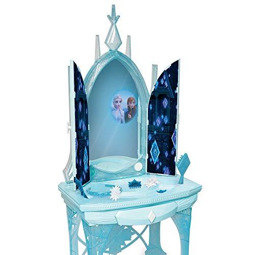 アナと雪の女王 アナ雪 ディズニープリンセス フローズン 【送料無料】Disney Frozen 2 Elsa's Enchanted Ice Vanity, Includes Lights, Iconic Story Moments & Plays