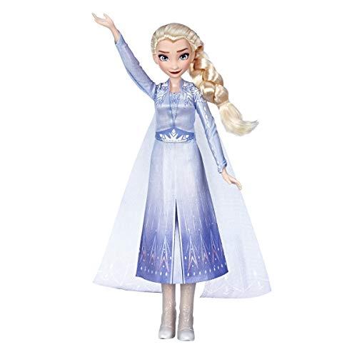 アナと雪の女王 アナ雪 ディズニープリンセス フローズン Disney Frozen Singing Elsa Fashion Doll with Music Wearing Blue Dress Inspired by The Frozen 2 movie, Toy For Kids 3 years & Upアナと雪の女王 アナ雪 ディズニープリンセス フローズン