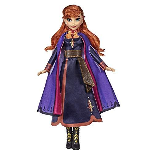 アナと雪の女王 アナ雪 ディズニープリンセス フローズン 【送料無料】Disney Frozen Singing Anna Fashion Doll with Music Wearing A Purple Dress Inspired by 2, Toy for Kids 3 Years & Upアナと雪の女王 アナ雪 ディズニープリンセス フローズン