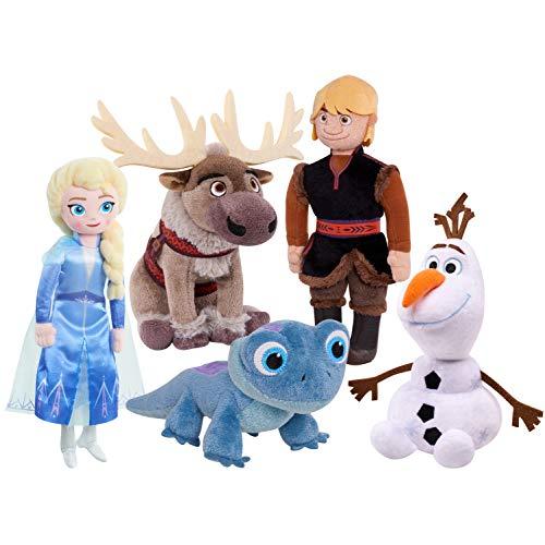 アナと雪の女王 アナ雪 ディズニープリンセス フローズン 【送料無料】Disney Frozen 2 Plush Toy for Kids, Plush Collector Setアナと雪の女王 アナ雪 ディズニープリンセス フローズン