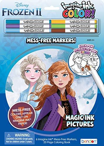 アナと雪の女王 アナ雪 ディズニープリンセス フローズン Disney Frozen 2 Imagine Ink Color Pad and 20-Page Activity Book with 6 Markers 45817アナと雪の女王 アナ雪 ディズニープリンセス フローズン