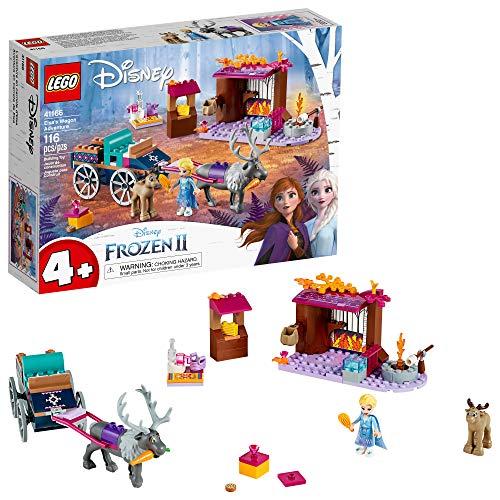アナと雪の女王 アナ雪 ディズニープリンセス フローズン 【送料無料】LEGO Disney Frozen II Elsa's Wagon Carriage Adventure 41166 Building Kit with Elsa & Sven Toy Figure (116 Pieces)アナと雪の女王 アナ雪 ディズニープリンセス フローズン