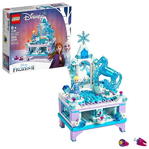 アナと雪の女王 アナ雪 ディズニープリンセス フローズン 【送料無料】LEGO Disney Frozen II Elsa's Jewelry Box Creation 41168 Disney Jewelry Box Building Kit with Elsa Mini Doll and Nokk figurアナと雪の女王 アナ雪 ディズニープリンセス フローズン