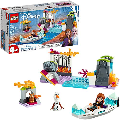 アナと雪の女王 アナ雪 ディズニープリンセス フローズン 【送料無料】LEGO Disney Frozen II Anna's Canoe Expedition 41165 Frozen Adventure Easy Building Kit (108 Pieces)アナと雪の女王 アナ雪 ディズニープリンセス フローズン