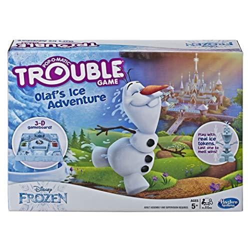 アナと雪の女王 アナ雪 ディズニープリンセス フローズン 【送料無料】Trouble Game Olaf's Ice Adventureアナと雪の女王 アナ雪 ディズニープリンセス フローズン