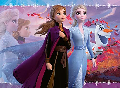 アナと雪の女王 アナ雪 ディズニープリンセス フローズン Ravensburger 12868 Disney Frozen 2 - Strong Sisters - 100 Piece Jigsaw Puzzle with Glitter for Kids - Every Piece is Unique - Pieces Fit Togetアナと雪の女王 アナ雪 ディズニープリンセス フローズン