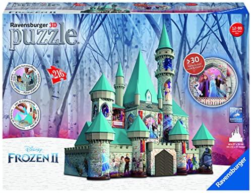 アナと雪の女王 アナ雪 ディズニープリンセス フローズン 【送料無料】Ravensburger 11156 Disney Frozen 2 Castle - 216 Piece 3D Jigsaw Puzzle for Kids and Adults - Easy Click Technology Means Pieアナと雪の女王 アナ雪 ディズニープリンセス フローズン