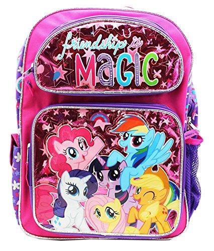 マイリトルポニー ハズブロ hasbro、おしゃれなポニー かわいいポニー ゆめかわいい New My Little Pony Friendships Is Magic Large Backpack-36370マイリトルポニー ハズブロ hasbro、おしゃれなポニー かわいいポニー ゆめかわいい