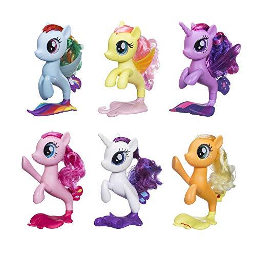 マイリトルポニー ハズブロ hasbro、おしゃれなポニー かわいいポニー ゆめかわいい 【送料無料】My Little Pony 6 Seapony Toys ? Twilight Sparkle, Rainbow Dash, Pinkie Pマイリトルポニー ハズブロ hasbro、おしゃれなポニー かわいいポニー ゆめかわいい