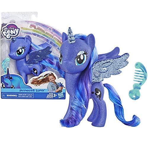マイリトルポニー ハズブロ hasbro、おしゃれなポニー かわいいポニー ゆめかわいい My Little Pony Toy Princess Luna ? Sparkling 6