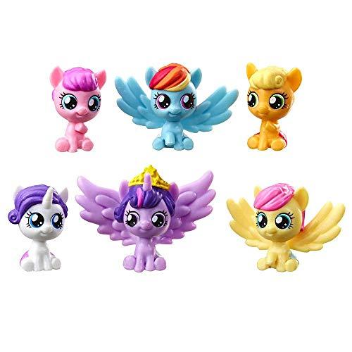 マイリトルポニー ハズブロ hasbro、おしゃれなポニー かわいいポニー ゆめかわいい My Little Pony My Baby Mane 6 Mini Figures 1