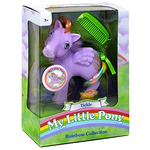マイリトルポニー ハズブロ hasbro、おしゃれなポニー かわいいポニー ゆめかわいい My Little Pony 35276 My Classic Rainbow Ponies-Tickle Collectible, Multicolourマイリトルポニー ハズブロ hasbro、おしゃれなポニー かわいいポニー ゆめかわいい