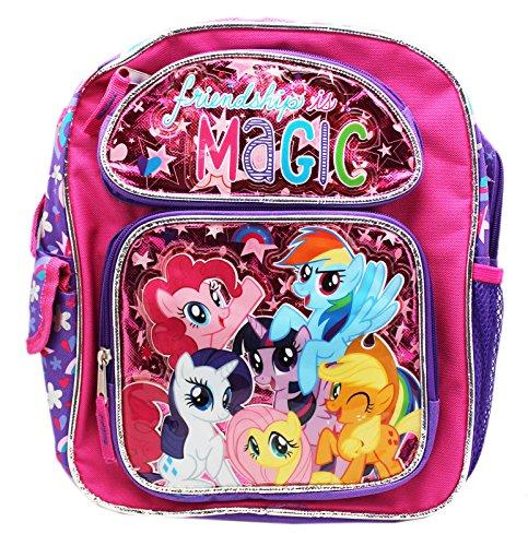 マイリトルポニー ハズブロ hasbro、おしゃれなポニー かわいいポニー ゆめかわいい New My Little Pony Friendships Is Magic Small 12 Inches Backpack-36356マイリトルポニー ハズブロ hasbro、おしゃれなポニー かわいいポニー ゆめかわいい