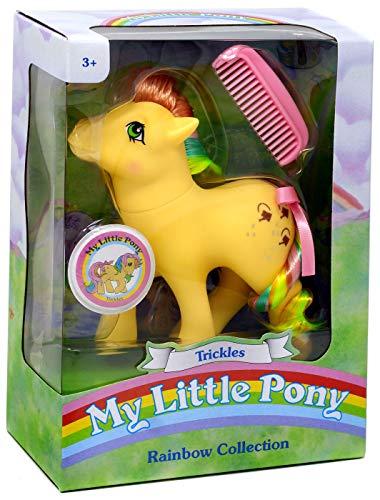 マイリトルポニー ハズブロ hasbro、おしゃれなポニー かわいいポニー ゆめかわいい My Little Pony 35274 My Classic Rainbow Ponies-Trickles Collectible, Multicolourマイリトルポニー ハズブロ hasbro、おしゃれなポニー かわいいポニー ゆめかわいい
