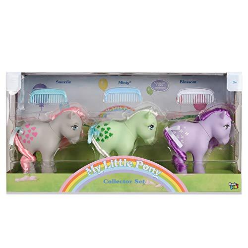 マイリトルポニー ハズブロ hasbro、おしゃれなポニー かわいいポニー ゆめかわいい 【送料無料】My Little Pony 35267 Retro Collector 3 Pack: Snuzzle, Minty, Blossom, Multマイリトルポニー ハズブロ hasbro、おしゃれなポニー かわいいポニー ゆめかわいい