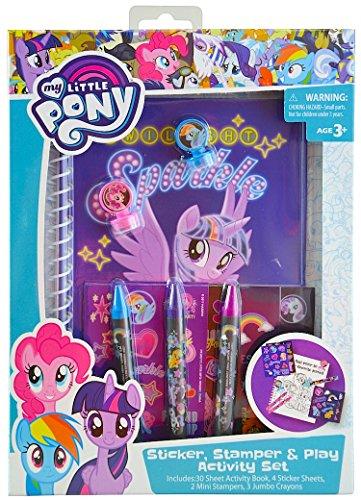 マイリトルポニー ハズブロ hasbro、おしゃれなポニー かわいいポニー ゆめかわいい My Little Pony Sticker & Activity Set in Box (1)マイリトルポニー ハズブロ hasbro、おしゃれなポニー かわいいポニー ゆめかわいい