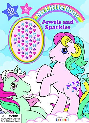 マイリトルポニー ハズブロ hasbro、おしゃれなポニー かわいいポニー ゆめかわいい My Little Pony Official Activity Book with Jewel Stickers, Multicolorマイリトルポニー ハズブロ hasbro、おしゃれなポニー かわいいポニー ゆめかわいい