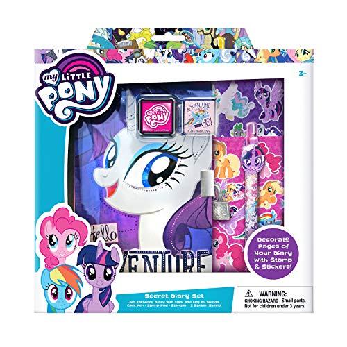 マイリトルポニー ハズブロ hasbro、おしゃれなポニー かわいいポニー ゆめかわいい My Little Pony Secret Diary Set for Girlsマイリトルポニー ハズブロ hasbro、おしゃれなポニー かわいいポニー ゆめかわいい