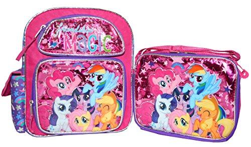 マイリトルポニー ハズブロ hasbro、おしゃれなポニー かわいいポニー ゆめかわいい 【送料無料】My Little Pony 12 inch Backpack and Lunch Box Setマイリトルポニー ハズブロ hasbro、おしゃれなポニー かわいいポニー ゆめかわいい