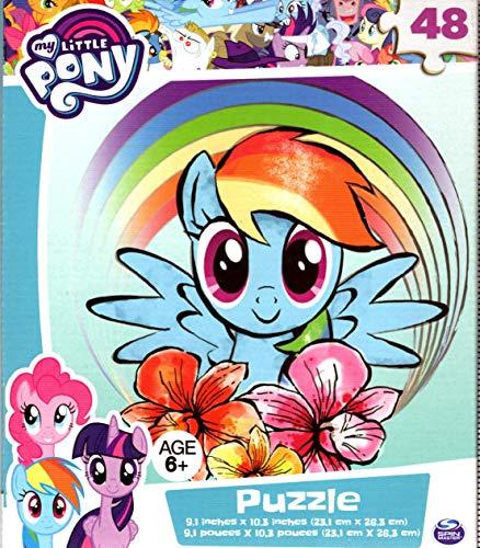 マイリトルポニー ハズブロ hasbro、おしゃれなポニー かわいいポニー ゆめかわいい My Little Pony - 48 Pieces Jigsaw Puzzle - v10マイリトルポニー ハズブロ hasbro、おしゃれなポニー かわいいポニー ゆめかわいい