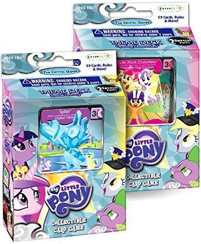 マイリトルポニー ハズブロ hasbro、おしゃれなポニー かわいいポニー ゆめかわいい My Little Pony - Collectible Card Game - The Crystal Games - Set of 2 Theme Decksマイリトルポニー ハズブロ hasbro、おしゃれなポニー かわいいポニー ゆめかわいい