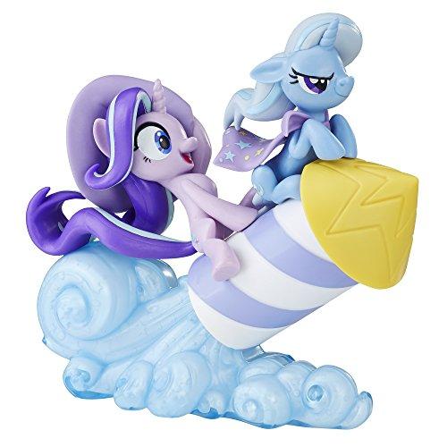 マイリトルポニー ハズブロ hasbro、おしゃれなポニー かわいいポニー ゆめかわいい 【送料無料】My Little Pony Fan Series Starlight Glimmer & Trixie Lulamoonマイリトルポニー ハズブロ hasbro、おしゃれなポニー かわいいポニー ゆめかわいい