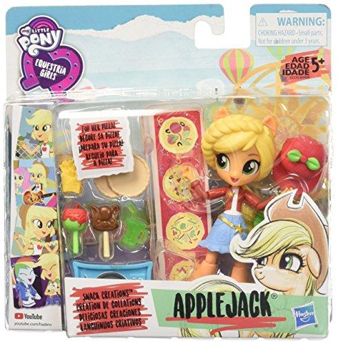 マイリトルポニー ハズブロ hasbro、おしゃれなポニー かわいいポニー ゆめかわいい My Little Pony Equestria Girls Applejack Snack Creationsマイリトルポニー ハズブロ hasbro、おしゃれなポニー かわいいポニー ゆめかわいい