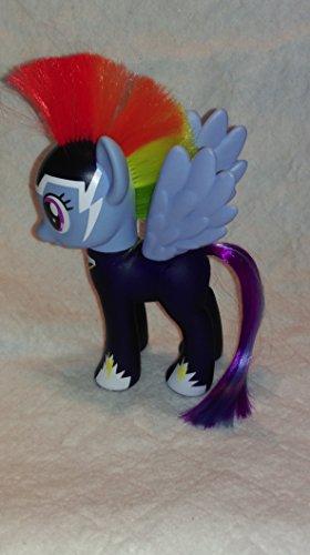 マイリトルポニー ハズブロ hasbro、おしゃれなポニー かわいいポニー ゆめかわいい My Little Pony Friendship is Magic Power Ponies Zapp Tonnerre Rainbow Dash Exclusive Figureマイリトルポニー ハズブロ hasbro、おしゃれなポニー かわいいポニー ゆめかわいい
