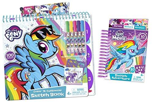 マイリトルポニー ハズブロ hasbro、おしゃれなポニー かわいいポニー ゆめかわいい My Little Pony Bundle: Sketch Book and Mini Sketch Bookマイリトルポニー ハズブロ hasbro、おしゃれなポニー かわいいポニー ゆめかわいい