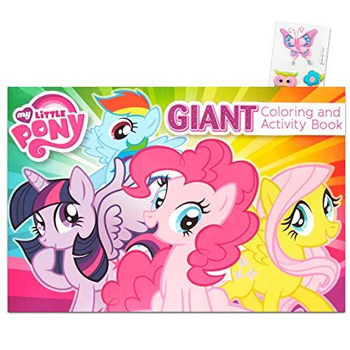マイリトルポニー ハズブロ hasbro、おしゃれなポニー かわいいポニー ゆめかわいい My Little Pony Giant Coloring and Activity Bookマイリトルポニー ハズブロ hasbro、おしゃれなポニー かわいいポニー ゆめかわいい