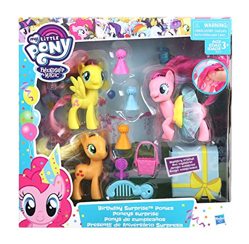 マイリトルポニー ハズブロ hasbro、おしゃれなポニー かわいいポニー ゆめかわいい 【送料無料】My Little Pony Birthday Surprise Poniesマイリトルポニー ハズブロ hasbro、おしゃれなポニー かわいいポニー ゆめかわいい