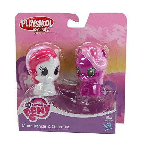 マイリトルポニー ハズブロ hasbro、おしゃれなポニー かわいいポニー ゆめかわいい My Little Pony Playskool Friends Figure Two-Pack with Moon Dancer & Cheerileeマイリトルポニー ハズブロ hasbro、おしゃれなポニー かわいいポニー ゆめかわいい