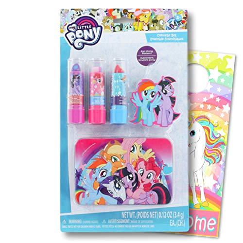 マイリトルポニー ハズブロ hasbro、おしゃれなポニー かわいいポニー ゆめかわいい My Little Pony Accessories for Girls Lip Care Set & Tinマイリトルポニー ハズブロ hasbro、おしゃれなポニー かわいいポニー ゆめかわいい