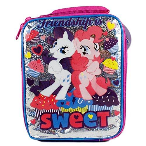 マイリトルポニー ハズブロ hasbro、おしゃれなポニー かわいいポニー ゆめかわいい My Little Pony Friendship is Sweet Insulated School Lunch Snack Bagマイリトルポニー ハズブロ hasbro、おしゃれなポニー かわいいポニー ゆめかわいい