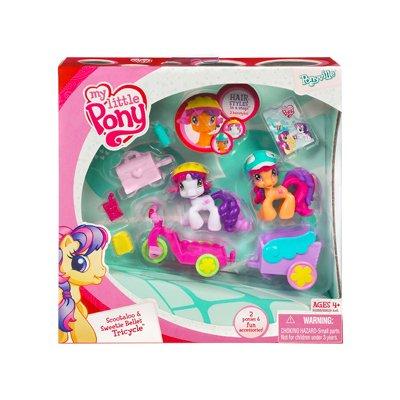 マイリトルポニー ハズブロ hasbro、おしゃれなポニー かわいいポニー ゆめかわいい 【送料無料】My Little Pony: Ponyville > Scootaloo & Sweetie Belle's Tricycle Playseマイリトルポニー ハズブロ hasbro、おしゃれなポニー かわいいポニー ゆめかわいい