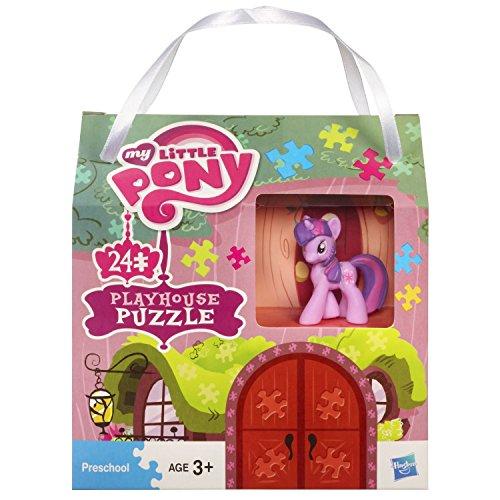 マイリトルポニー ハズブロ hasbro、おしゃれなポニー かわいいポニー ゆめかわいい My Little Pony 3d Playhouse Puzzle with Twighlight Sparkle figureマイリトルポニー ハズブロ hasbro、おしゃれなポニー かわいいポニー ゆめかわいい