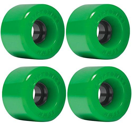 ウィール タイヤ スケボー スケートボード 海外モデル DECK Kryptonics Wheels Star Trac Green Skateboard Wheels - 55mm 86a (Set of 4)ウィール タイヤ スケボー スケートボード 海外モデル DECK