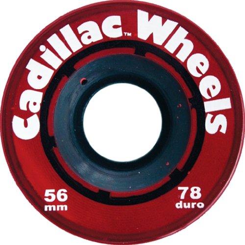 ウィール タイヤ スケボー スケートボード 海外モデル Cadillac 56mm Red Skateboard Wheels (Set Of 4)ウィール タイヤ スケボー スケートボード 海外モデル