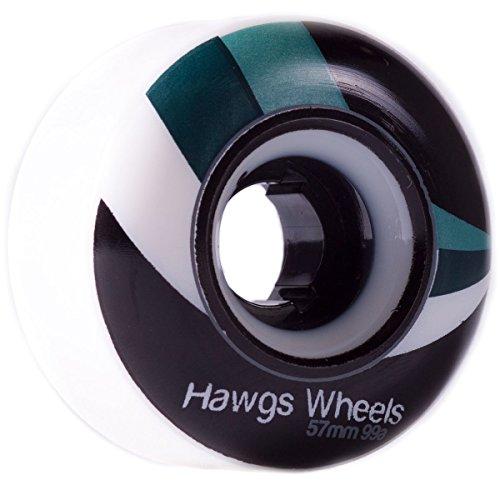 ウィール タイヤ スケボー スケートボード 海外モデル Hawgs Landyachtz Street Wheels 57mm 99a Whiteウィール タイヤ スケボー スケートボード 海外モデル