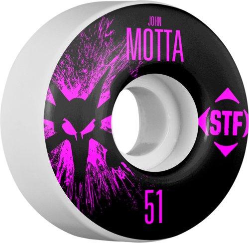 ウィール タイヤ スケボー スケートボード 海外モデル WPCAJMTSP5103W4 Bones Wheels Motta Splat Wheels, 51mmウィール タイヤ スケボー スケートボード 海外モデル WPCAJMTSP5103W4
