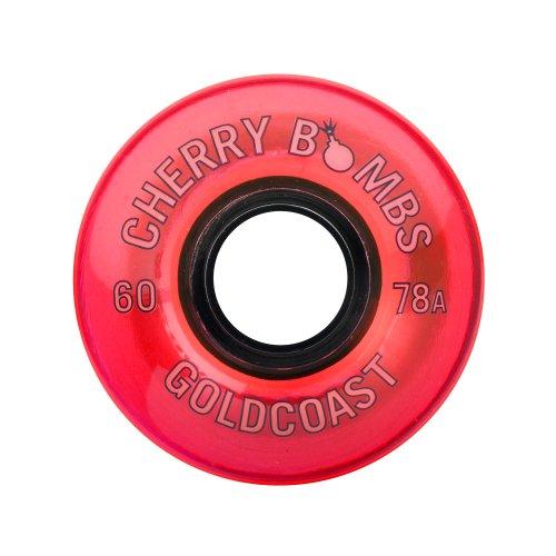 ウィール タイヤ スケボー スケートボード 海外モデル W-CB-TNT GOLDCOAST LONGBOARD WHEELS 60MM/78A - CHERRY BOMBS TNTウィール タイヤ スケボー スケートボード 海外モデル W-CB-TNT
