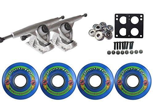 ウィール タイヤ スケボー スケートボード 海外モデル TGM Skateboards KRYPTONICS Route Truck Wheel Pack 62mm Blue Randal 180 Rawウィール タイヤ スケボー スケートボード 海外モデル