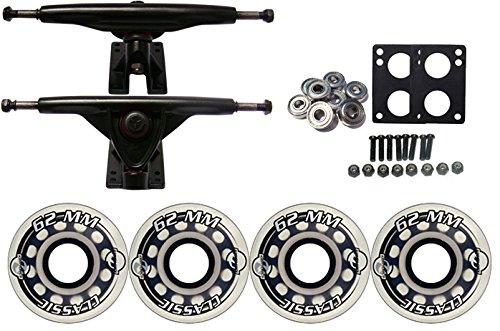 ウィール タイヤ スケボー スケートボード 海外モデル TGM Skateboards KRYPTONICS Classic Truck Wheel Pack 62mm Clear 180mm Blackウィール タイヤ スケボー スケートボード 海外モデル
