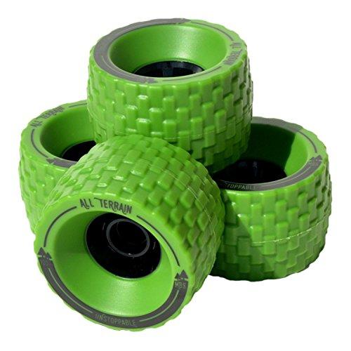 ウィール タイヤ スケボー スケートボード 海外モデル 13406 - Green MBS All-Terrain Longboard Wheels - 100mm X 65mm - Greenウィール タイヤ スケボー スケートボード 海外モデル 13406 - Green